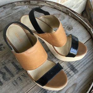 Levity Wooden Platform Heels